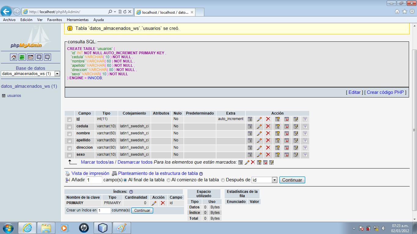 Creacion de un webservice en java ingenieria de sistemas y electronica listo ya esta definida nuestra tabla ahora si podemos pasar directamente a codificar en java nuestro web service urtaz Images